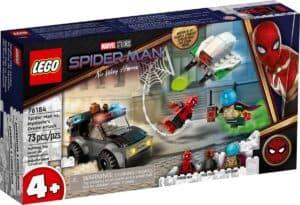 lego 76184 spider man ja mysterion dronekopterihyokkays