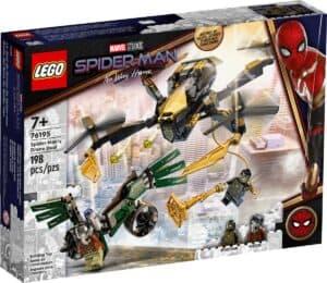 lego 76195 spider man ja dronekopterien kaksintaistelu