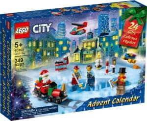 lego 60303 city joulukalenteri