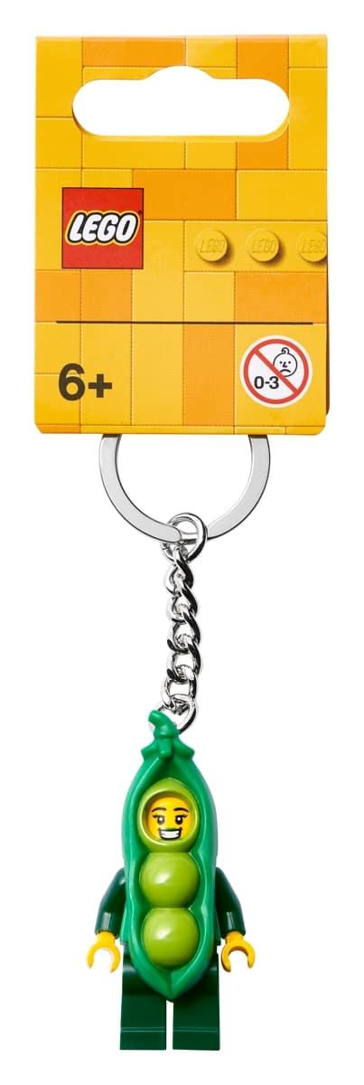 lego 854080 herneenpalkopukuinen tytto avaimenpera