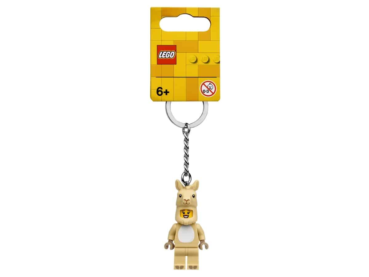 lego 854081 laamapukuinen tytto avaimenpera