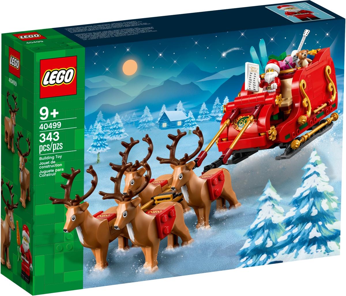 lego 40499 joulupukin reki